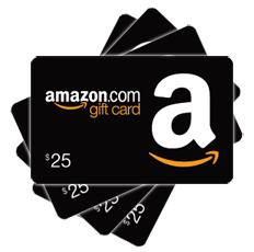 Chance to win an Amazon Gift Card