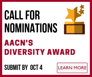 Submit Nomination for AACN's Diversity Award - Deadline October 4