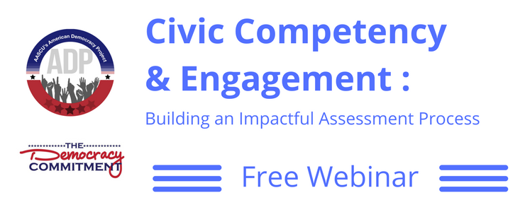 Civic Competency and Engagement Assessment Webinar Image