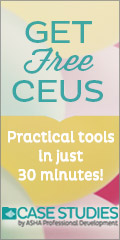 Get Free CEUs: Practical tools in just 30 minutes!