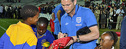 England player Frank Lampard meets South African schoolchildren. Photo: Charles Corbett / DFID.