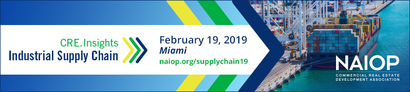 CRE.Insights: Industrial Supply Chain, Feb. 19, 2019