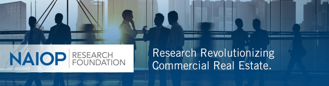 The NAIOP Research Foundation plays a vital role in helping the industry to stay competitive by identifying best development practices, future opportunities and strategies.