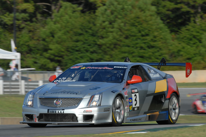 Johnny O'Connell, Cadillac CTS-V Coupe (Weber photo)