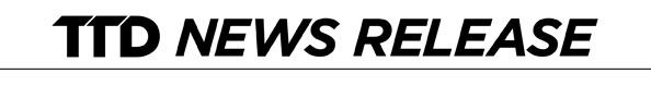 TTD News Release