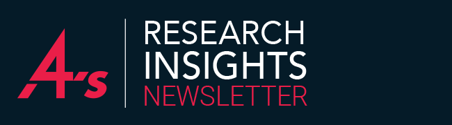 4A's Research Insights Newsletter