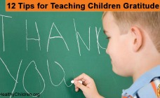 12 Tips for Teaching Children Gratitute