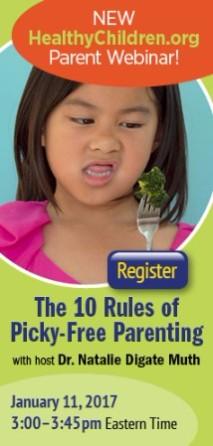 Register for Picky Eater Webinar