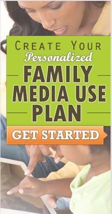 Media Use Plan promo