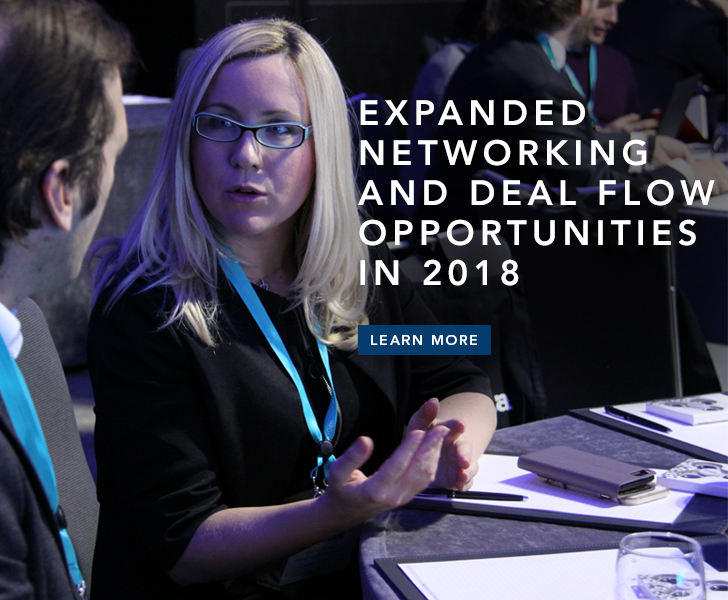 Expanded Networking and Deal Flow Opportunities in 2018