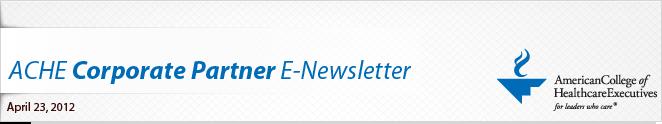 ACHE Corporate Partner E-Newsletter