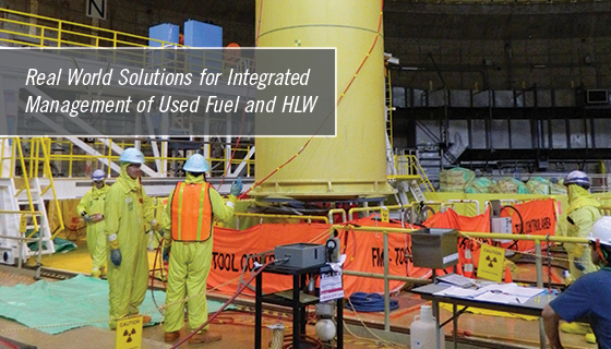 """Real World Solutions for Integrated Management of Used Fuel and HLW"""