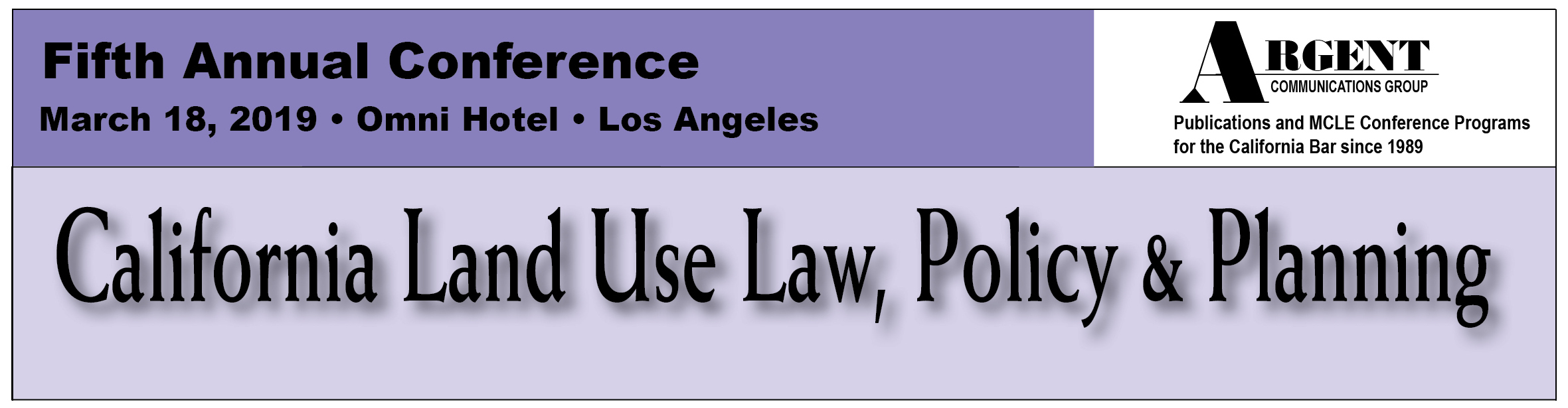 Argent California Water Law & Policy