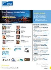 Argus European Biomass Trading 2015 Brochure