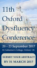 11th Oxford Dysfluency Conference
