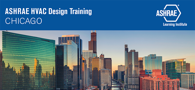 ASHRAE HVAC Design Training Chicago