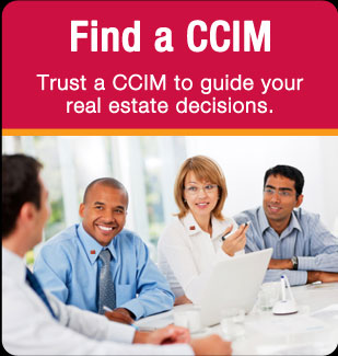 Find a CCIM - Trust a CCIM to guide your real estate decisions.