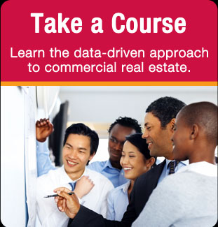 Take a Course - Learn the data-driven aproach to commercial real estate
