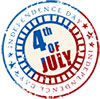 July 4th Stamp