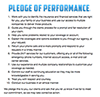 Pledge of Performance