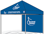 Trusted Choice Pop Tent