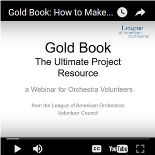 Gold Book Webinar