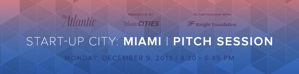 Start-Up City: Pitch Session, Dec. 9