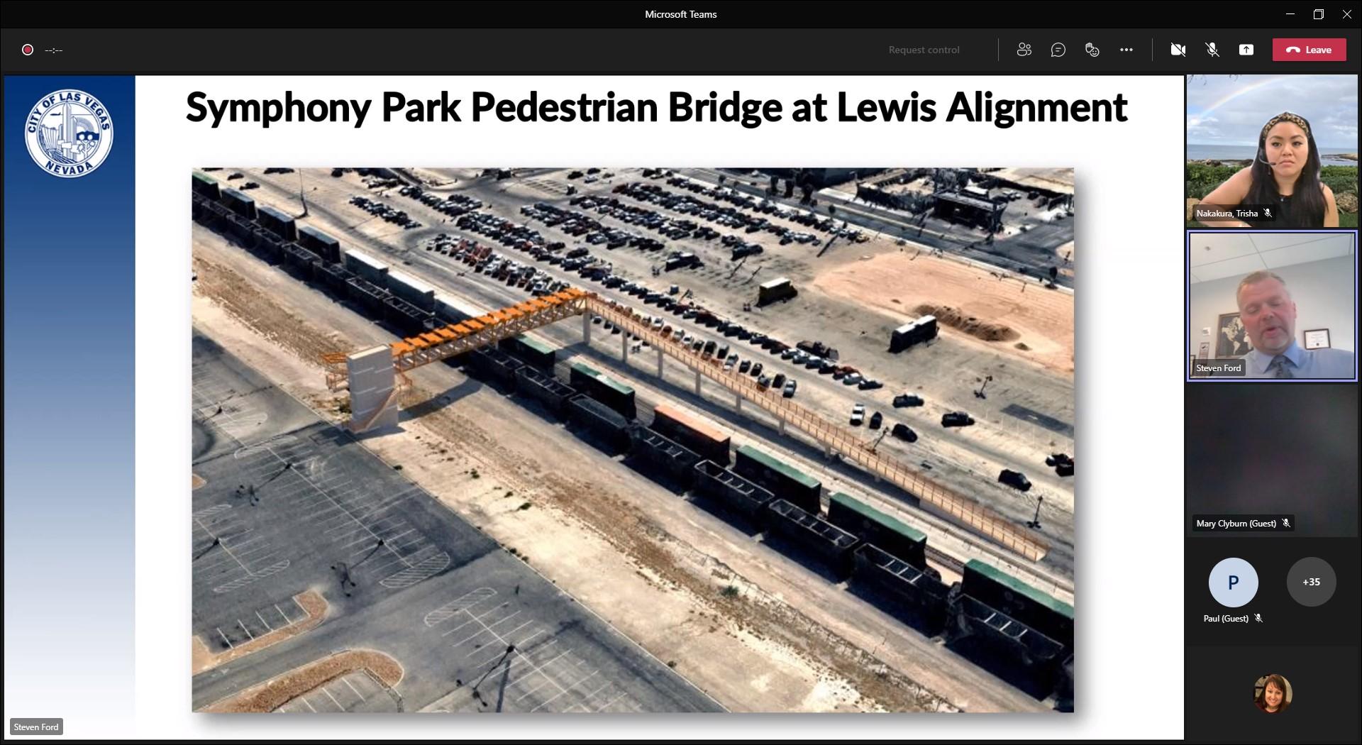 Symphony Park Bridge