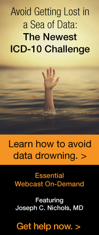 Avoid Getting Lost in a Sea of Data: The Newest ICD-10 Challenge | Learn how to avoid data drowning