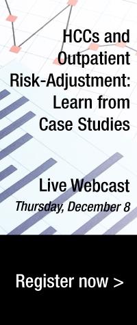 HCCs and Outpatient Risk-Adjustment: Learn from Case Studies | Live Webcast: Thursday, December 8 | Register now