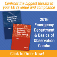2016 Emergency Department & Basics of Observation Combo