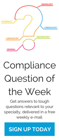 Compliance Question of the Week | Sign up today