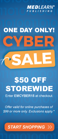 ONE DAY ONLY! CYBER SALE! | $50 OFF STOREWIDE | Enter EMCYBER15 at checkout | Offer valid on purchases of $99 or more. Exclusions apply. | START SHOPPING