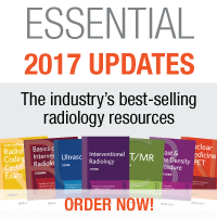Don't start 2017 without the industry's best-selling radiology resources! | ESSENTIAL 2017 UPDATES | Order your resources now!
