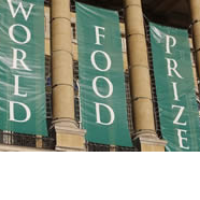 World Food Prize banners