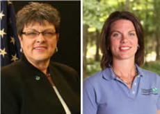 Jane Hardisty and Carrie Vollmer-Sanders