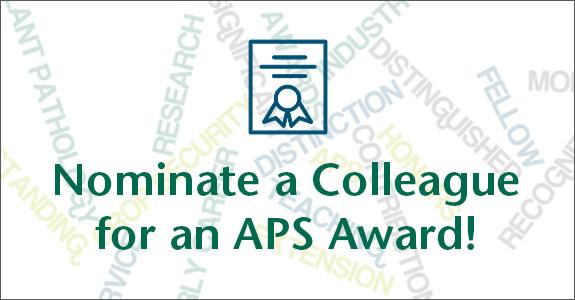 Nominate a Colleague for an Award