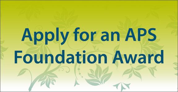 Apply for a Foundation Award