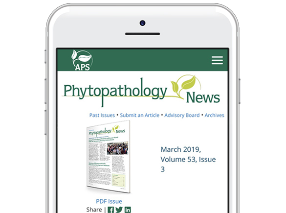 Read the Latest Issue of Phytopathology News!