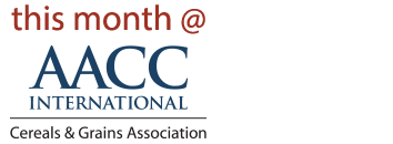 This Month @ AACCI - Cereals & Grains Association