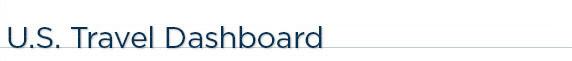 U.S. Travel Dashboard