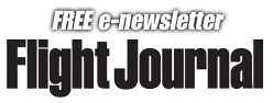 Flight Journal Free e-newsletter