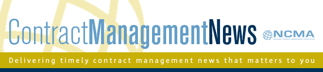 NCMA's Contract Management News